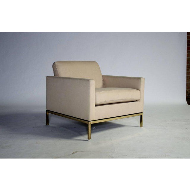 Tan Florence Knoll Armchair For Sale - Image 8 of 8