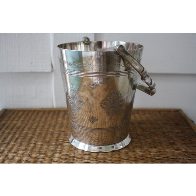 Moorish Style Silver Ice Bucket - Image 4 of 11