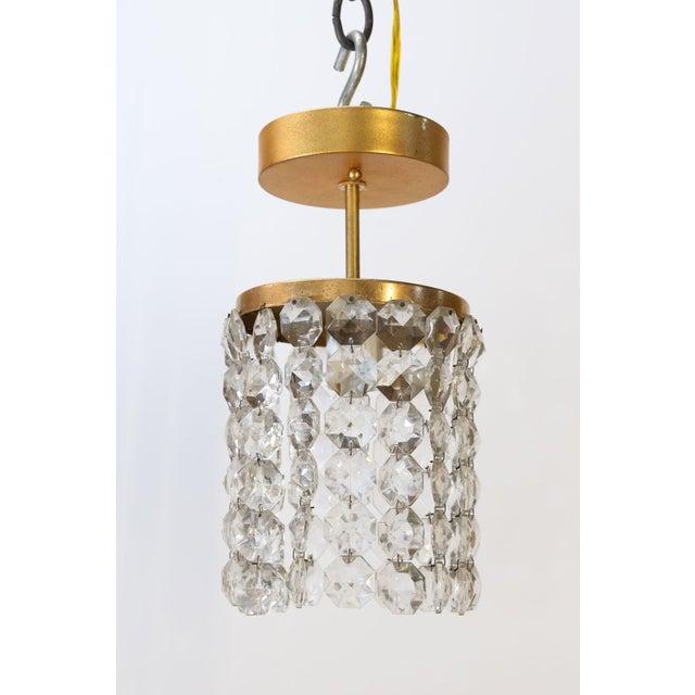 Austrian Single Light Flush Mount For Sale - Image 10 of 10