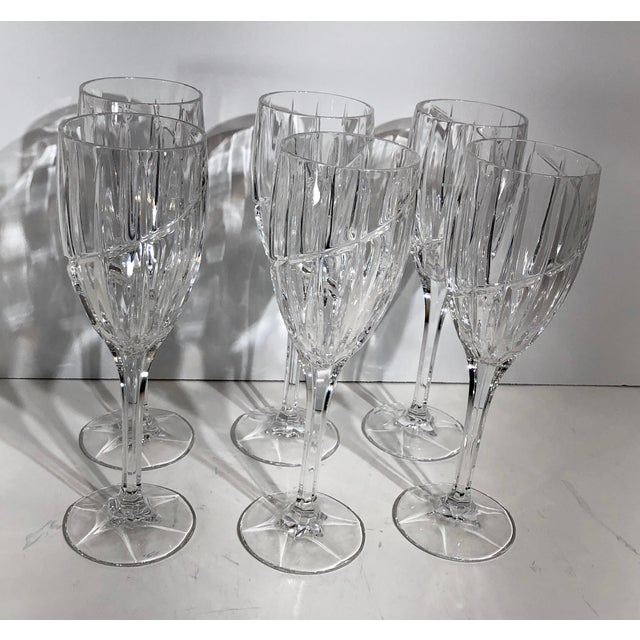 Contemporary Mikasa Uptown Wine Glasses - Set of 6 For Sale - Image 12 of 12