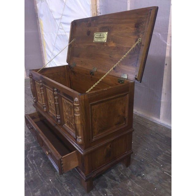 Heywood-Wakefield Heywood-Wakefield Vintage Limited Ed. Cedar Chest For Sale - Image 4 of 9