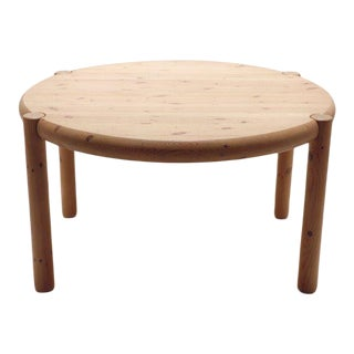 1970s Rainer Daumiller Pine Dining Table For Sale