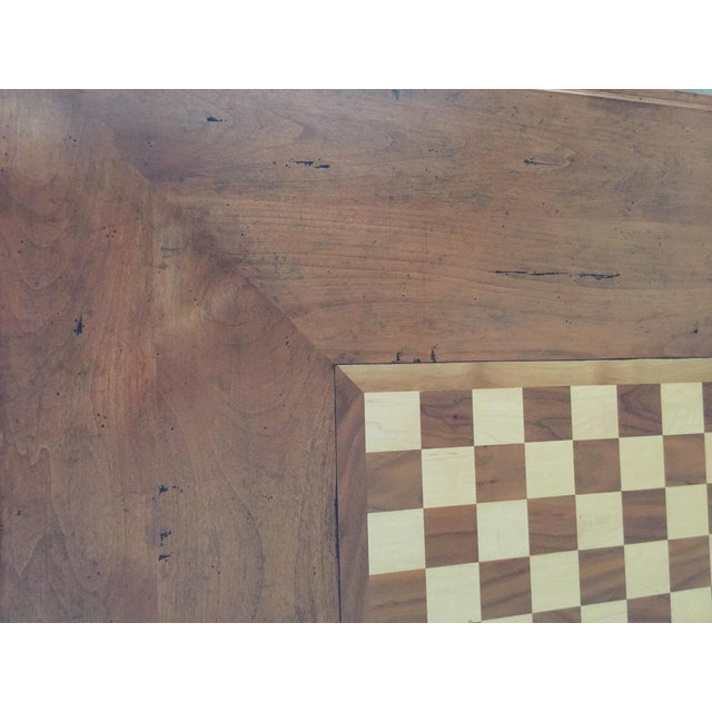 French Country Game Table - Image 4 of 7