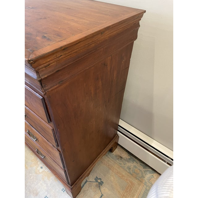 Late 18th Century Antique Chippendale Chest or Drawers For Sale - Image 5 of 8