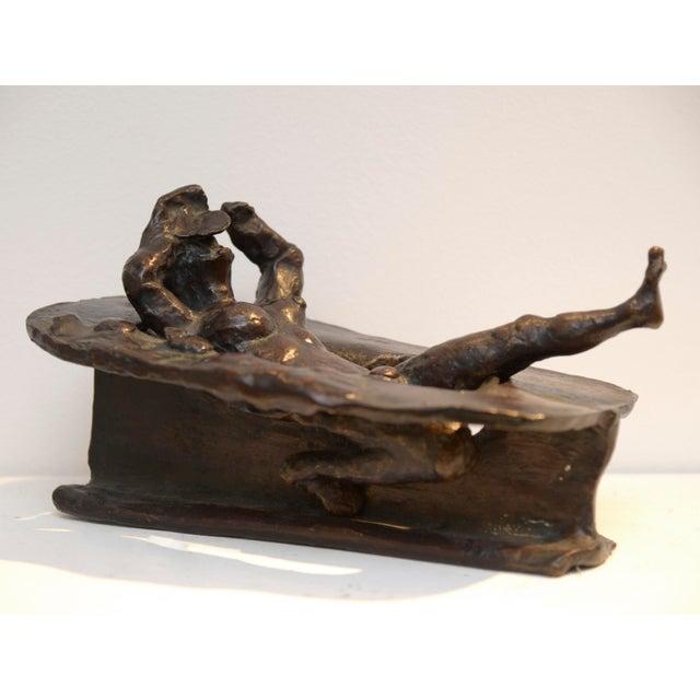 Bronze Jean Robert Ipousteguy Bronze Sculpture For Sale - Image 7 of 7