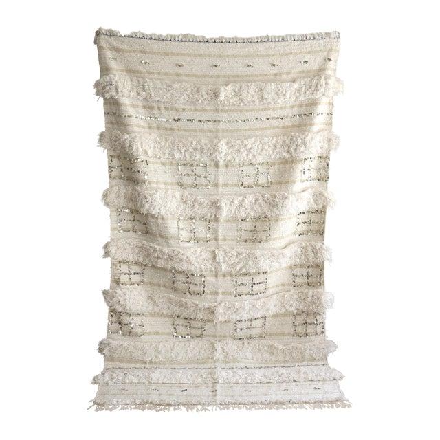 Vintage Moroccan Wedding Blanket - Image 1 of 5