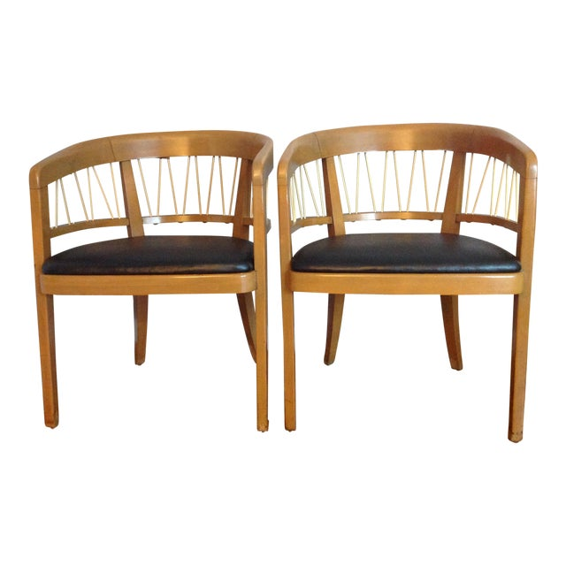 Edward Wormley for Drexel Armchairs - A Pair - Image 1 of 11
