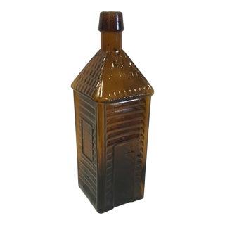 Early Hand-Blown Bitters Bottle