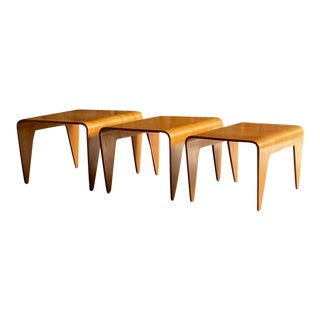 Marcel Breuer Nesting Tables by Isokon - Set of 3 For Sale