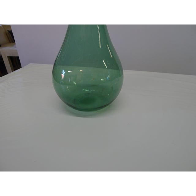 Blenko Vintage Blenko Floor Vase For Sale - Image 4 of 10