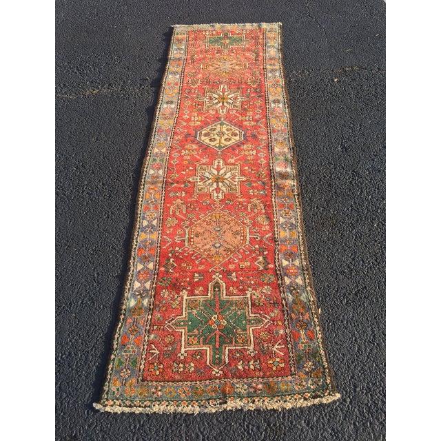 """Vintage Persian Karajeh Runner - 2'7"""" X 8'7"""" - Image 11 of 11"""