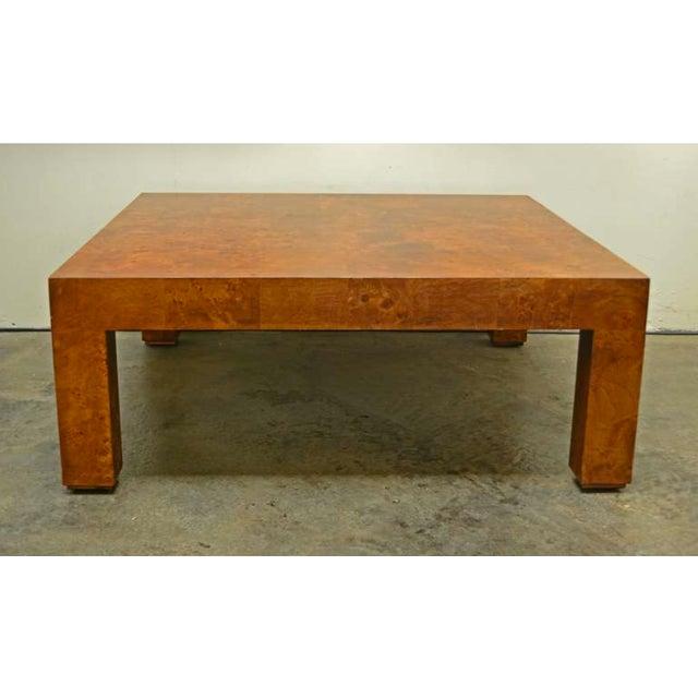 Burlwood Coffee Table by Milo Baughman - Image 4 of 4