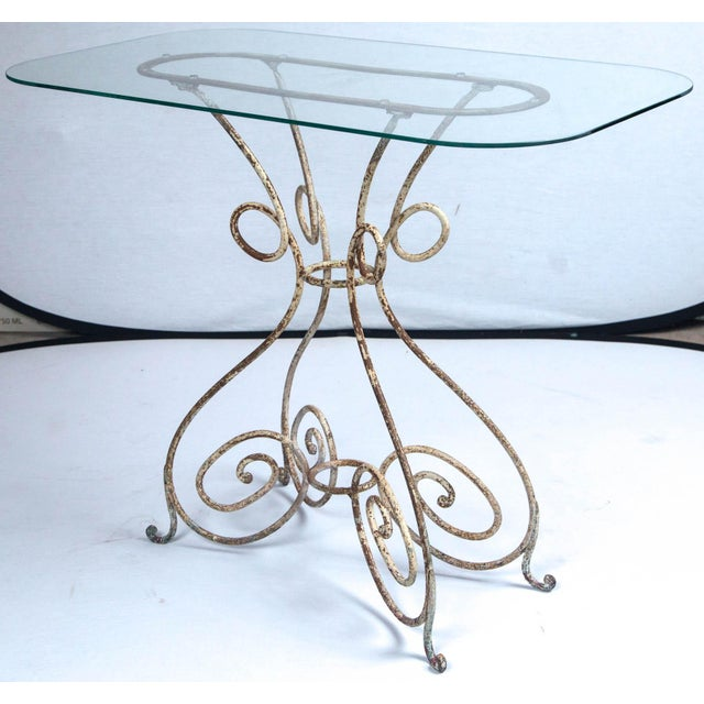 Early 20th Century Iron Bistro Table, France, Circa 1910 For Sale - Image 5 of 8