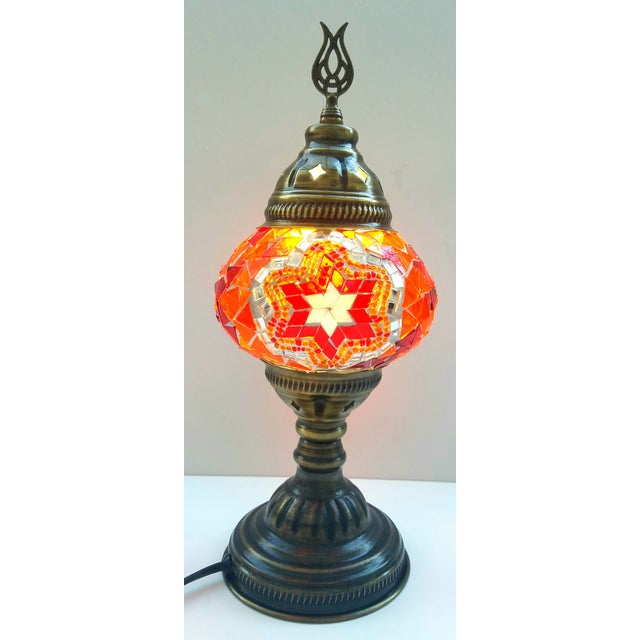 Mosaic Handmade Table Lamp - Image 2 of 5