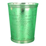 """Image of Newport Sterling """"The Country Club of Florida"""" 1967 Julep Cup For Sale"""