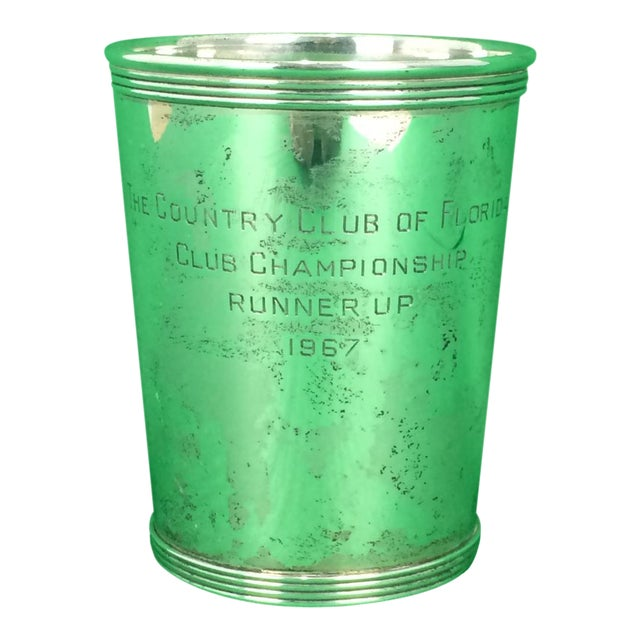 "Newport Sterling ""The Country Club of Florida"" 1967 Julep Cup - Image 1 of 5"