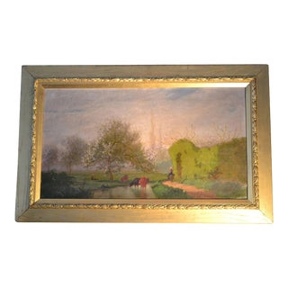French Country Scene For Sale