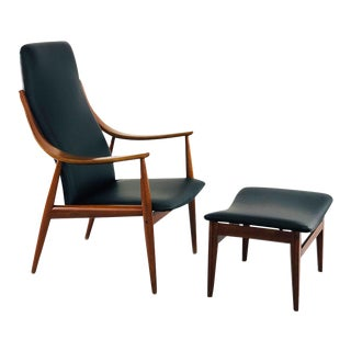Peter Hvidt - France & Son Peter Hvidt Armchair for France & Son Mod.146 For Sale