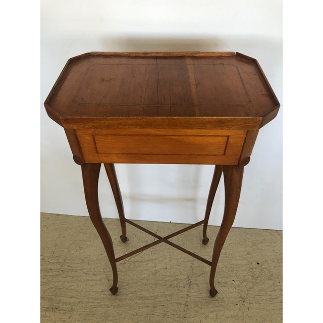 19th Century Biedermeier Side Table or Stand For Sale - Image 12 of 12