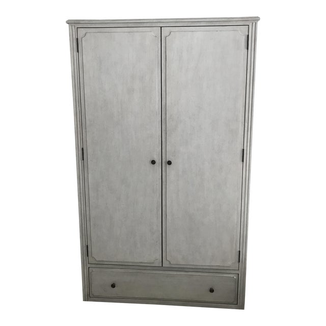 Vintage Finish Marcelle Armoire - Image 1 of 5