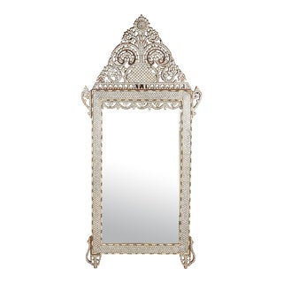 20th Century Syrian Mother of Pearl Inlaid Mirror For Sale