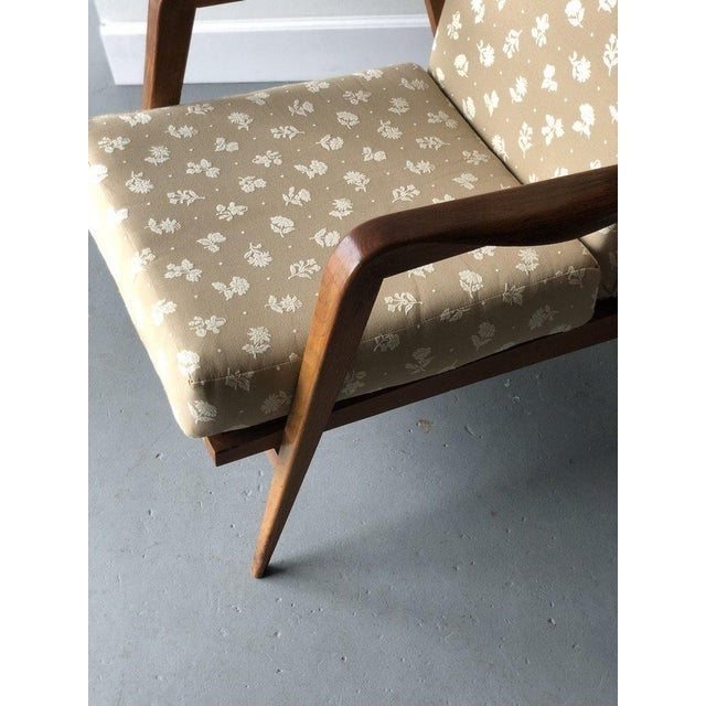 1950s Mid-Century Reclining Chairs - A Pair For Sale - Image 5 of 10