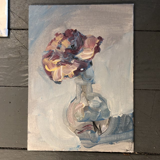 Contemporary Gallery Wall Collection 3 Original Contemporary Still Life Impressionist Paintings For Sale - Image 3 of 6