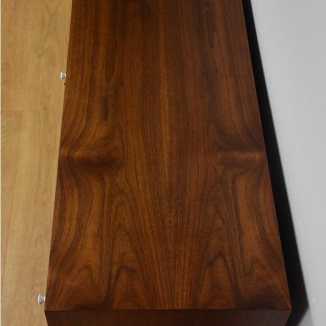 Mid Century Walnut 12 Drawer Dresser - Image 9 of 11