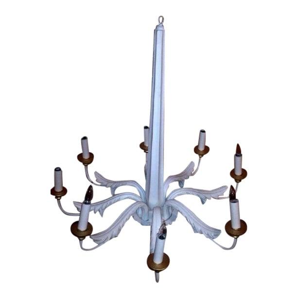 Acanthus leaf chandelier chairish acanthus leaf chandelier aloadofball Choice Image