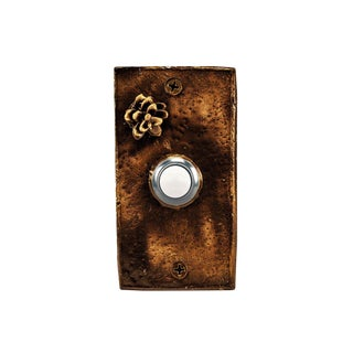 Rectangle Western Hemlock Doorbell For Sale