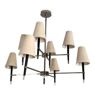 Jonathan Adler Ventana Two Tier Chandelier For Sale