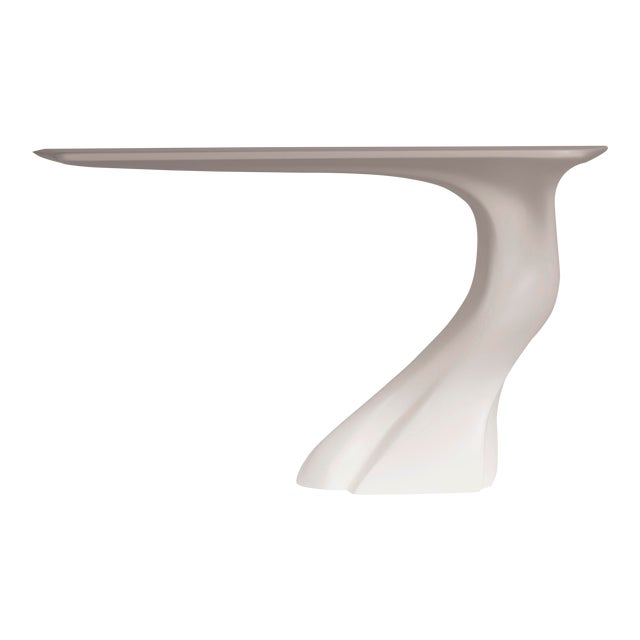 Amorph Frolic Console White Matte Wall Mounted For Sale
