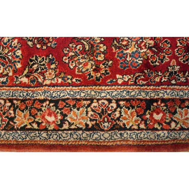 """Early 20th Century Sarouk Runner - 46"""" x 156"""" For Sale - Image 4 of 5"""