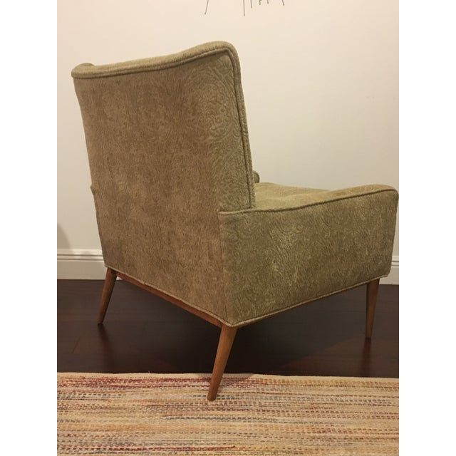 Calvin Furniture Mid Century Modern Paul McCobb for Directional Lounge Chair For Sale - Image 4 of 5