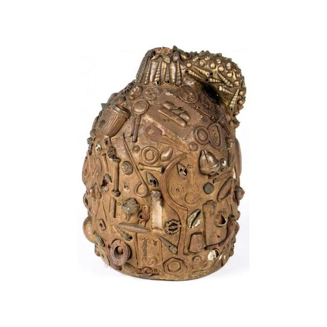 Antique Folk Art Memory Jug - Image 3 of 5