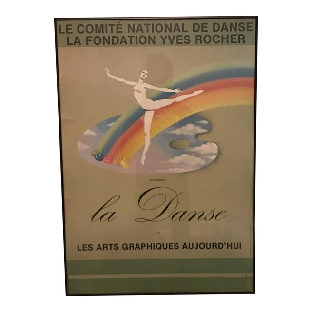 "European Modern ""La Danse"" Poster - Image 1 of 6"