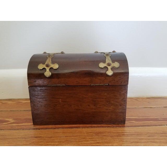Spanish Brass Detail Music Box - Image 2 of 4