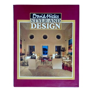 David Hicks: Style and Design Book For Sale