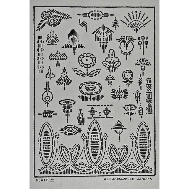 Circa 1920 Textile Design Print For Sale