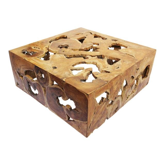 Teak Root Coffee Tables: Teak Root Organic Coffee Table