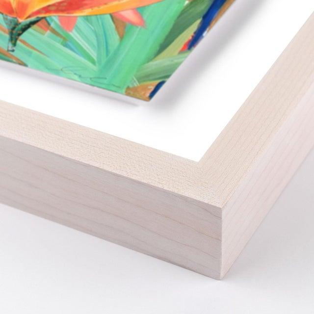 Zanzabar Collage 2 by Lulu DK in White Wash Framed Paper, Medium Art Print Overall Size: 25.5x36. Image Size: 20.5x31....
