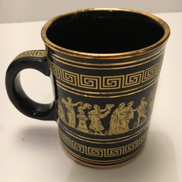 Neofitou 24k Gold Greek Key Mugs - Set of 4 - Image 7 of 9
