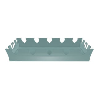 Oomph Ocean Drive Outdoor Tray, Green For Sale