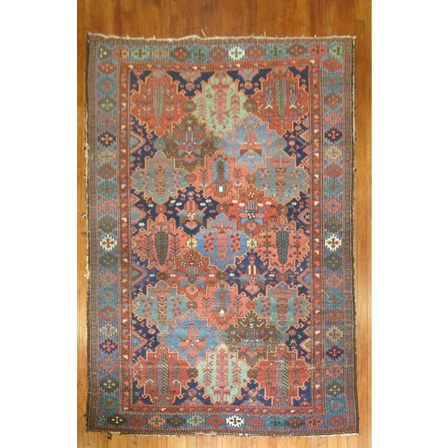 Antique Tribal Persian Rug - 5'2'' x 7'2'' - Image 2 of 5
