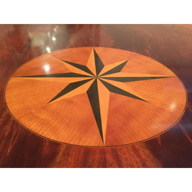 Square Mahogany Coffee Table - Image 6 of 11