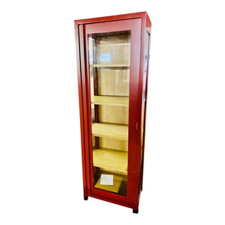 Mitchell Gold Caldwell Display Cabinet For Sale