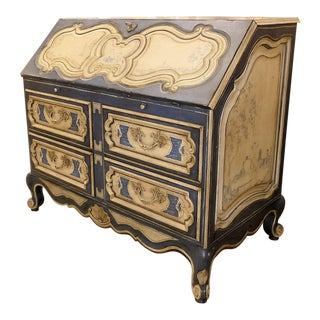 Century Furniture French Secretary Chest of Drawers For Sale