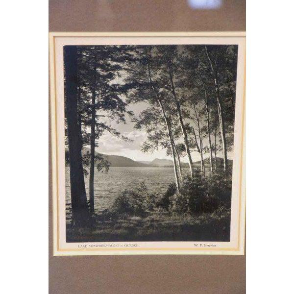 Contemporary Black & White Lake Memphremagog Photo For Sale - Image 3 of 6
