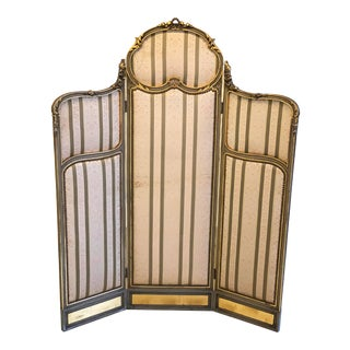 19th Century, Victorian Dressing Screen For Sale