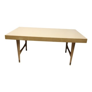 1960s Mid Century Modern Mersman Walnut Wood/Formica Coffee Table For Sale